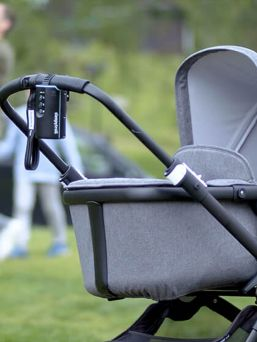 Sleepytroller carriage rocker. Simply attach the rocker to the strollers and see how your baby falls asleep to a comfortable rocking. Convenient sound and motion sensors detect when your child is crying or moving, and automatically start silently rocking the stroller before the child wakes up completely.