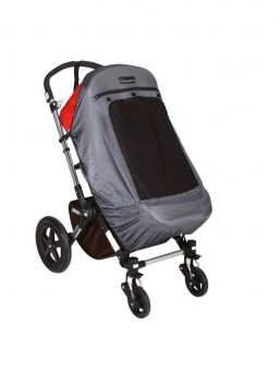 With the SnoozeShade Plus Deluxe pram's blackout curtain, your child will have a good naps on the trip in a stroller, and the curtain will also protect your child from the sun's UV rays.