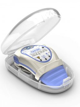 Snuza® HeroMD Babys Breathing monitor vibrates after 15 seconds of no movement in an effort to rouse your baby to resume abdominal movement.