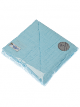 SNUTTEN Burp cloth 3+3pcs (turquoise)