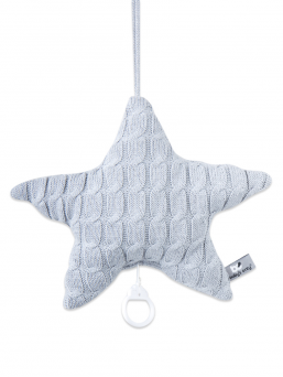 Soft star music box (grey) | BABY´S ONLY