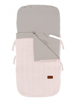 Baby's Only SUMMER Footmuff Maxi Cosi (CABLE classic pink)