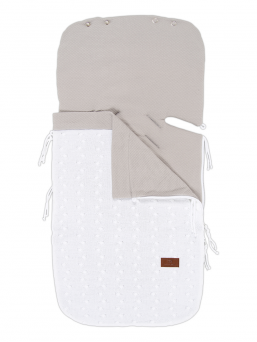 Baby's Only SUMMER Footmuff Maxi Cosi (white)