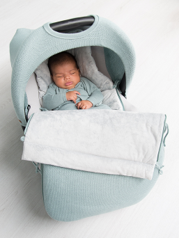 Baby's Only Baby's Only protective cover for baby car seat (powder blue)