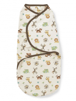 SwaddleMe Wrap 4-6mth (jungle)