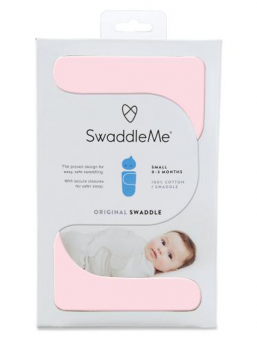 SwaddleMe Wrap 0-3mth (pink)