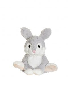 Stampe is a lovely little bunny from Teddykompaniet. The bunny has soft furry fur. Bunny has plastic balls in the lower back part, which makes it easier to place in a seated position. The bunny toy is child resistant, which means that all seams are tested and resistant, the materials are flame retardant and non-toxic. A perfect gift and nice toy for a child.