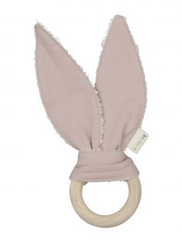Fabelab beautiful bunny teether, baby can chew it and wonder that lovely toy with smallest fingers.