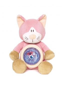 Teddykompaniet super soft night light. Press his tummy to activate the colour changing light.