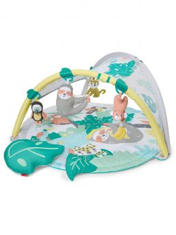 Tropical Paradise Activity Gym. Turn playtime into a tropical adventure with lush leaves, cute animals and soothing sounds.