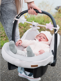 Car seat toy (rosa) | BABY´S ONLY
