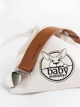 Pacifierholder (coconut) | BABY WALLABY