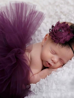 Tutu + headband (purple)