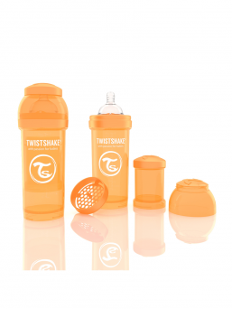 TwistShake Baby Bottle 260ml (orange)