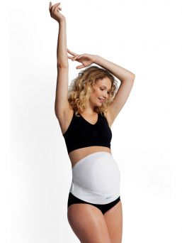 The extremely comfortable one-piece Carriwell overbelly Belt provides adjustable support and immediate relief for pregnancy induced backache.