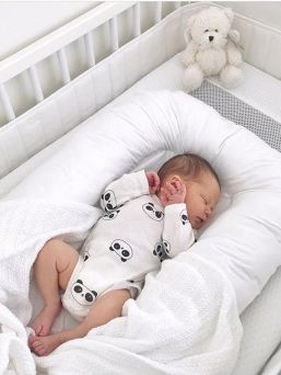 Babynest with removable cover (white)