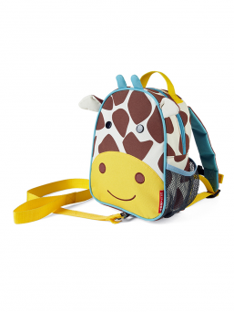 SkipHop Backpack with rein (giraffe)