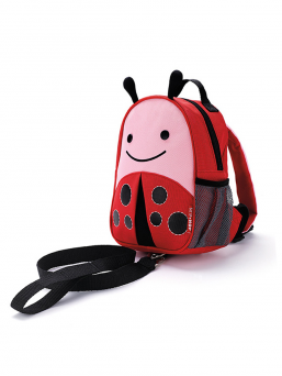 SkipHop Backpack with rein (ladybug)