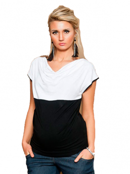 Maternity top Aava - WHITE