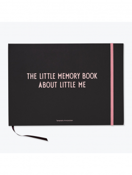 Design Letters The Little Memory book babybook (rosa)