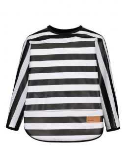 Longsleeve bib from Baby Wallaby PVC-free coated polyester - durable and practical material.