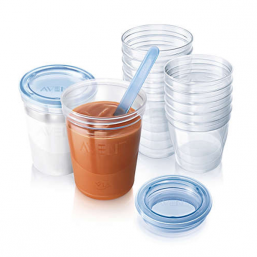 AVENT Breast Milk Containers Storage