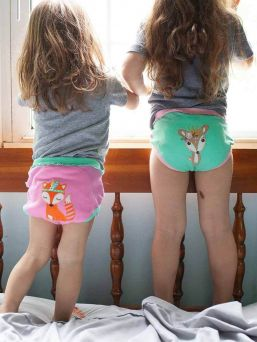 Zoocchini Training Pants 3-pack Woodland Princesses for girls