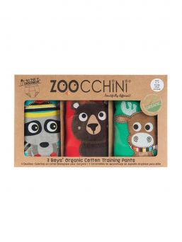 Zoocchini Training Pants 3 Pieces Forest Chums
