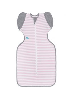 Swaddle Up 50/50 (pink stripes)