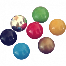 BOLA - cage balls 20mm (several colors)