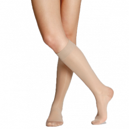 Relief socks knee high 70den (natural)