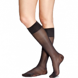 Relief socks knee high 70den (black)