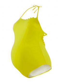 Maternity Swimsuit KYOTO, yellow | CACHE COEUR
