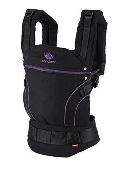 Manduca NEW STYLE Baby Carrier blackline